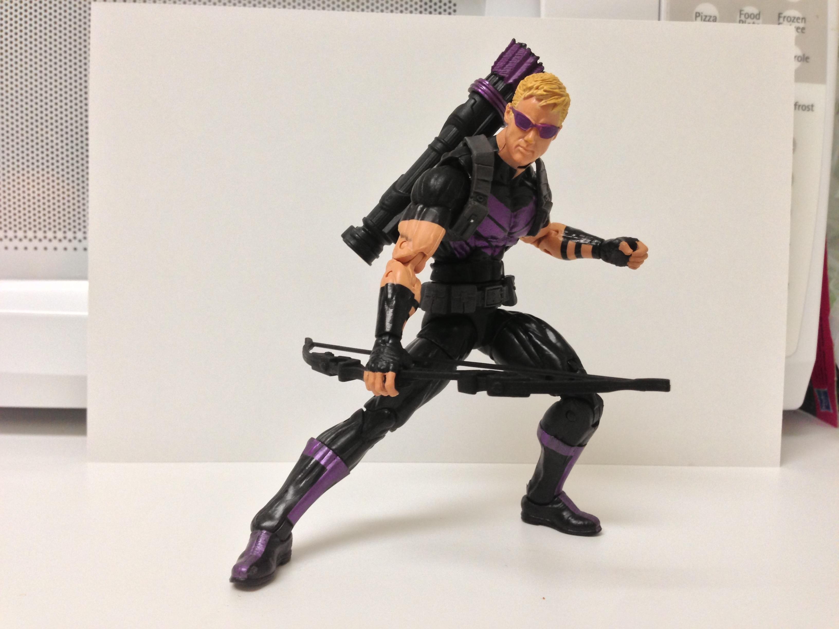 Marvel Legends Hawkeye Figure (Modern Variant) Review Wave ...