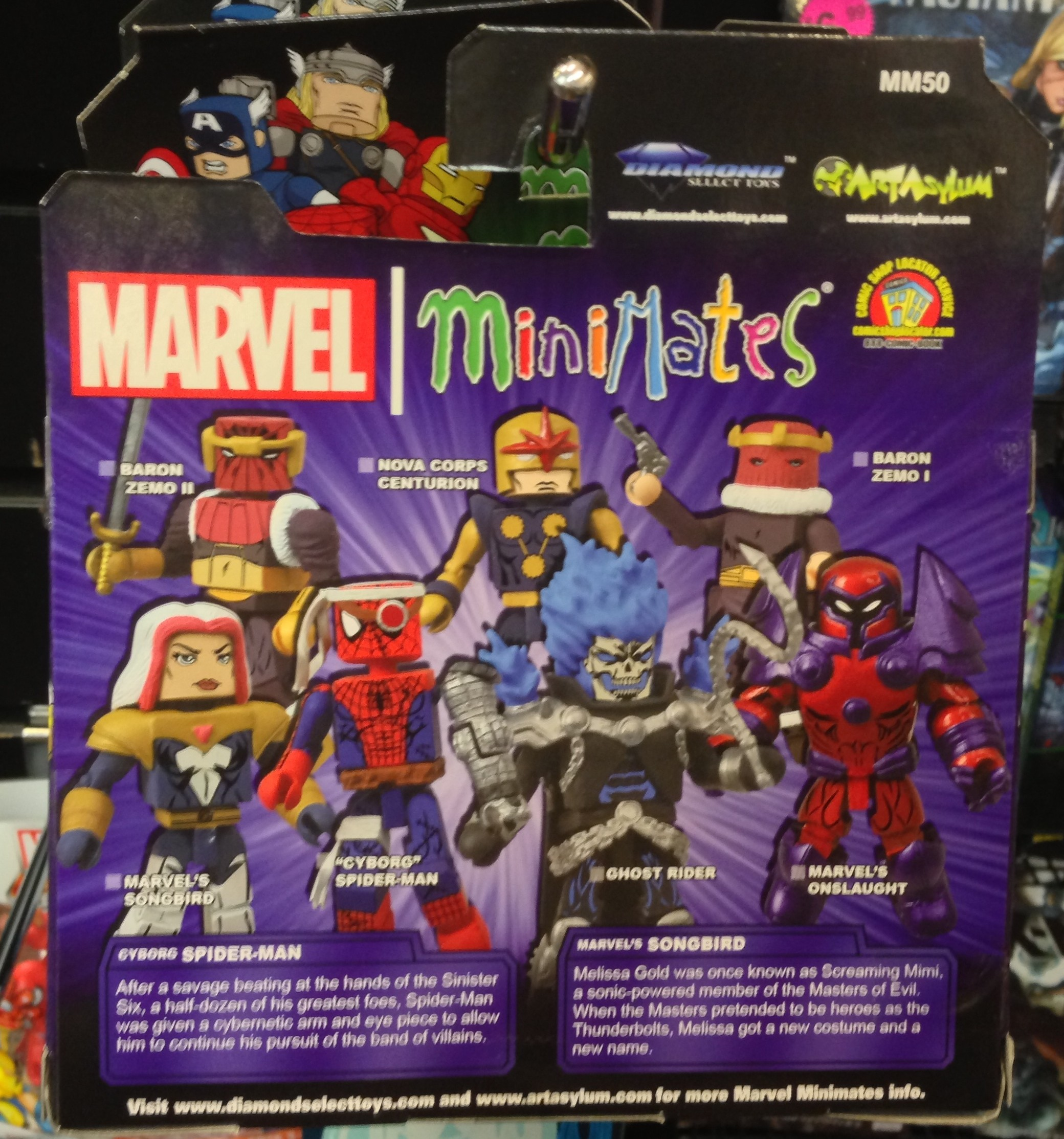 Marvel Minimates Series 50 Cyborg Spider-Man