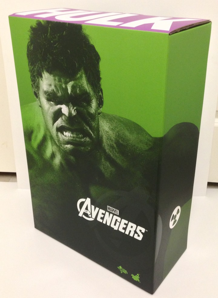 Avengers Hot Toys Hulk Box
