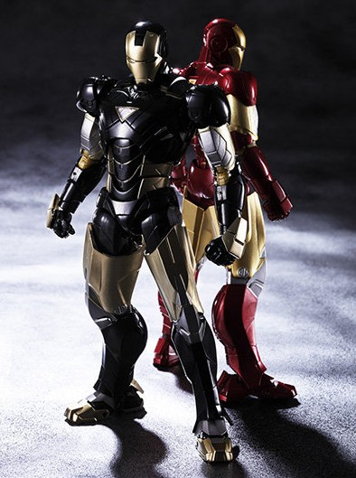 Bandai SH Figuarts Black Iron Man Mark VI Tamashii Nation Exclusive Figure