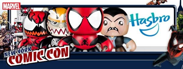 Hasbro Marvel New York Comic Con 2013 Toys Figures Exclusives