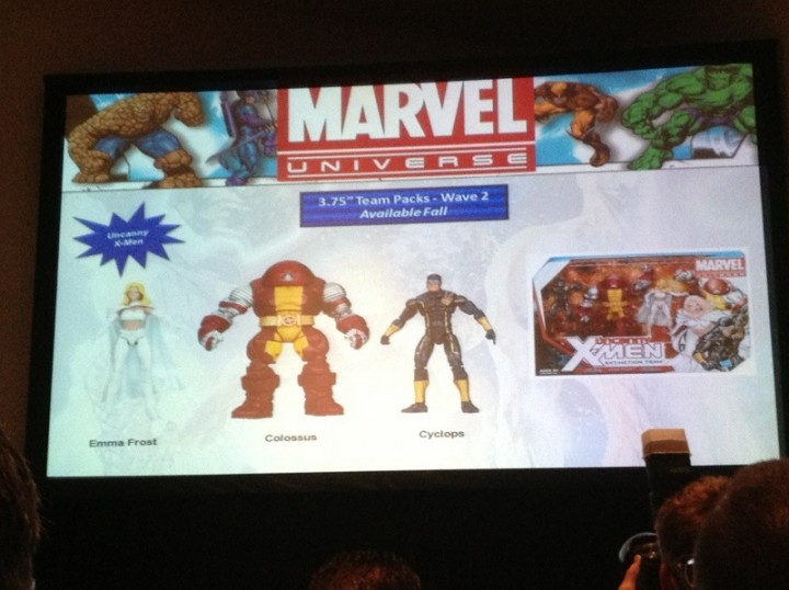 Hasbro Marvel Universe Panel Photo Uncanny X-Men Team Pack