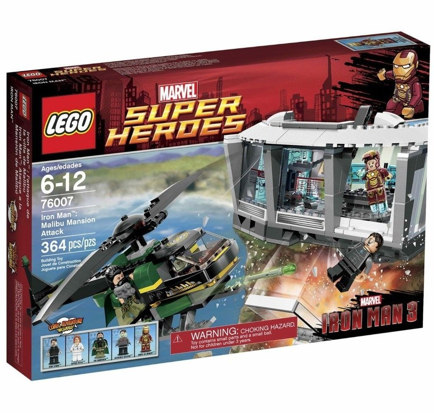 Lego Marvel Super Heroes Iron Man 3 Avengers Sets On Sale