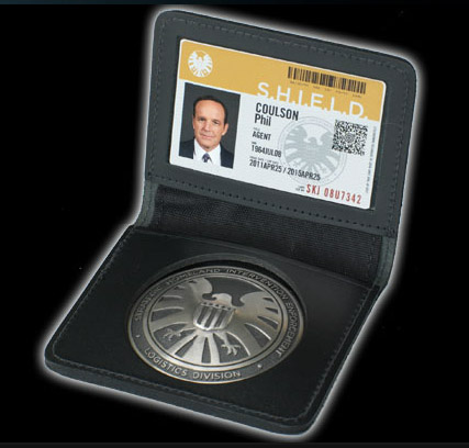 NYCC 2013 Agents of Shield Badge Prop Replica Exclusive Agent Phil Coulson