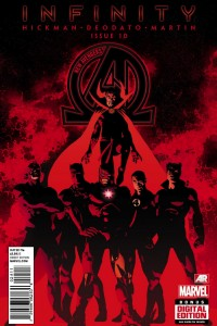 Marvel Comics Infinity #3 Cover