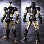 Tamashii Nation Exclusive SH Figuarts Iron Man Mark VI Black Ver!
