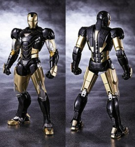 SH Figuarts Black Iron Man Tamashii Nations 2013 Exclusive Figure