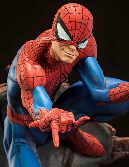 Sideshow Spider-Man J. Scott Campbell Maquette Up for Order