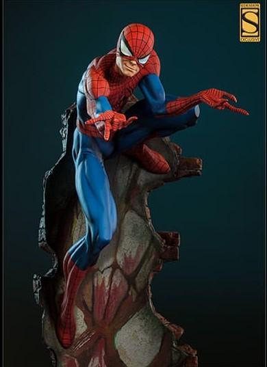 Spiderman Comiquette Statue J Scott Campbell Sideshow Collectibles Peter Parker Smirk