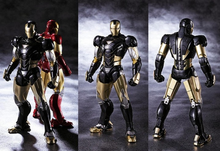Tamashii Nation S.H. Figuarts Iron Man Mark VI Black Ver Exclusive