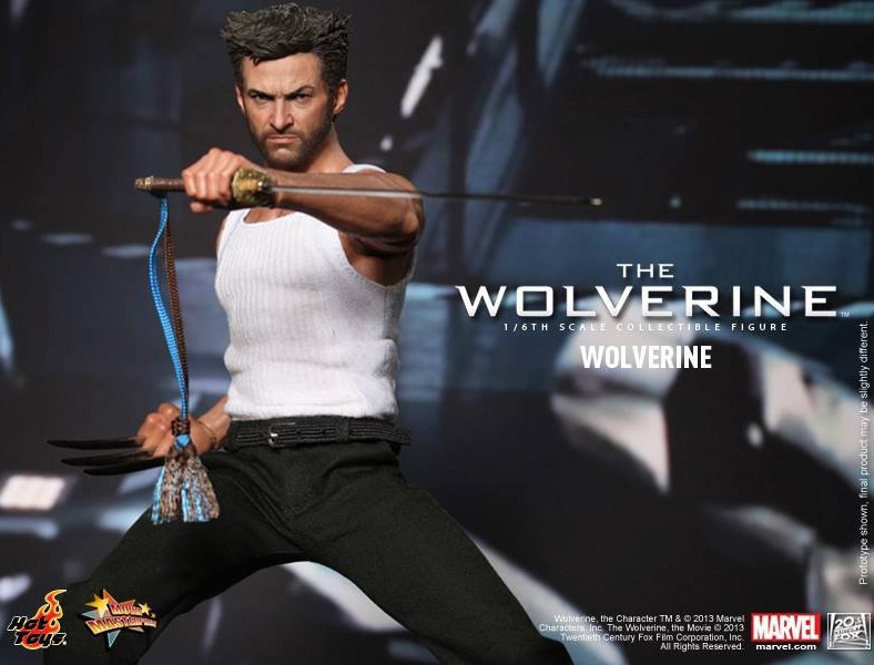 Hot Toys The Wolverine 1/6 Figure Revealed & Up for Order