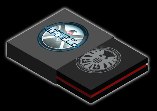 eFX Agents of SHIELD Badge Box NYCC 2013 Exclusive