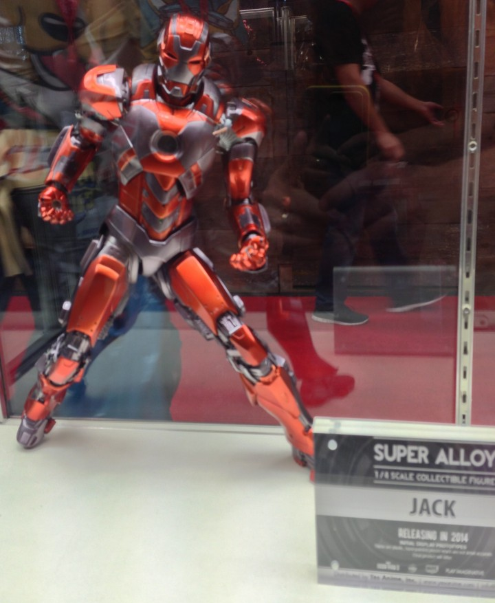 Super Alloy Jack Iron Man 1/4 Scale Figure NYCC 2013