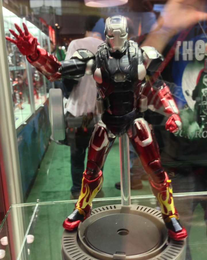 "Hot Rod Iron Man 3 6"" Figure Super Alloy NYCC 2013"