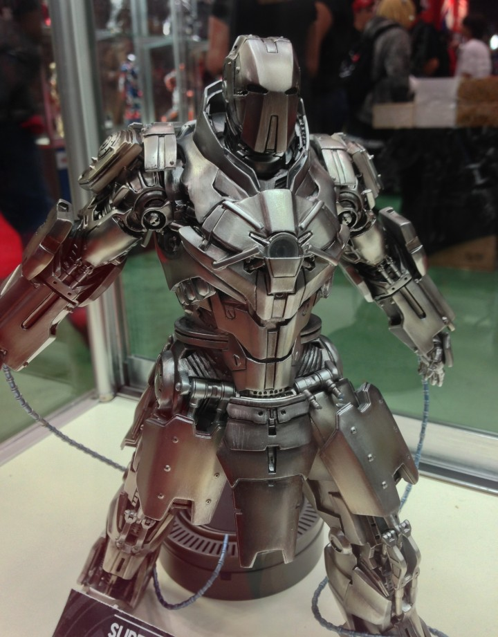 NYCC 2013 Whipslash 1/12 Super Alloy Iron Man 2 Whiplash Figure