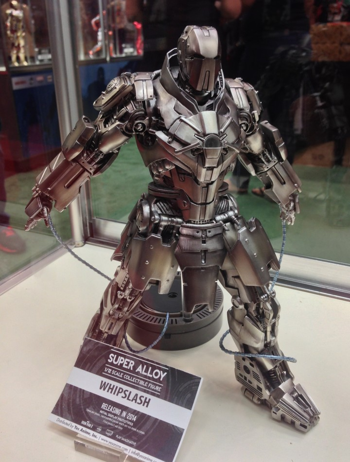 Play Imaginative 1/12 Armored Whiplash Figure Iron Man 2 Super Alloy