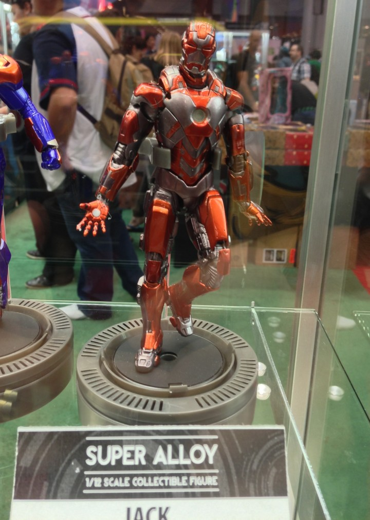 Play Imaginative Iron Man 3 Jack Armor 1/12 Figure at New York Comic Con 2013