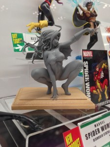 Bishoujo Spider-Woman Statue Prototype at New York Comic Con 2013