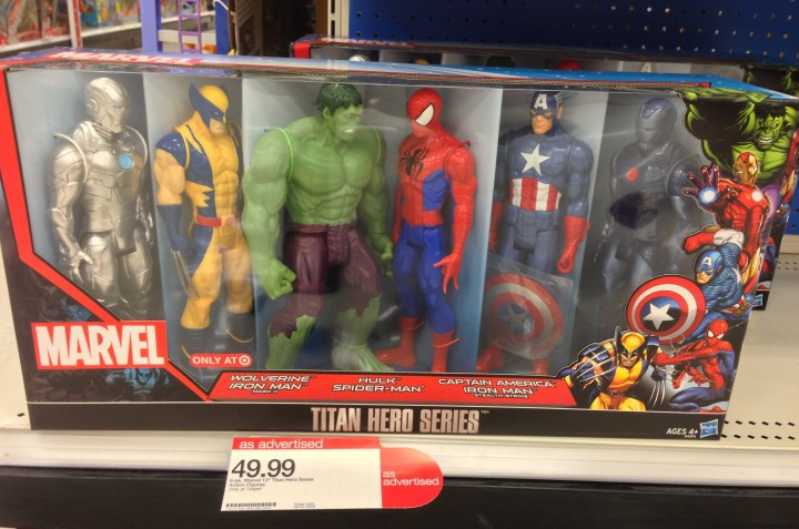 Hasbro Marvel Universe Titan Hero Figure Six-Pack Exclusive Target Set
