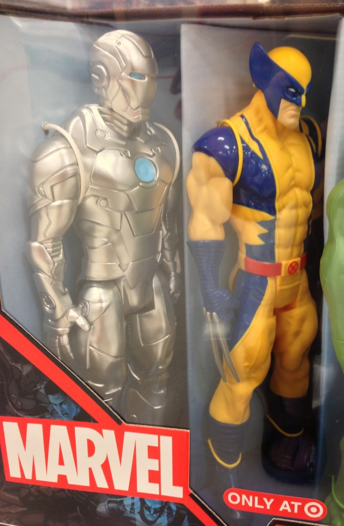 Titan Hero Iron Man Mark 2 Figure Exclusive Target