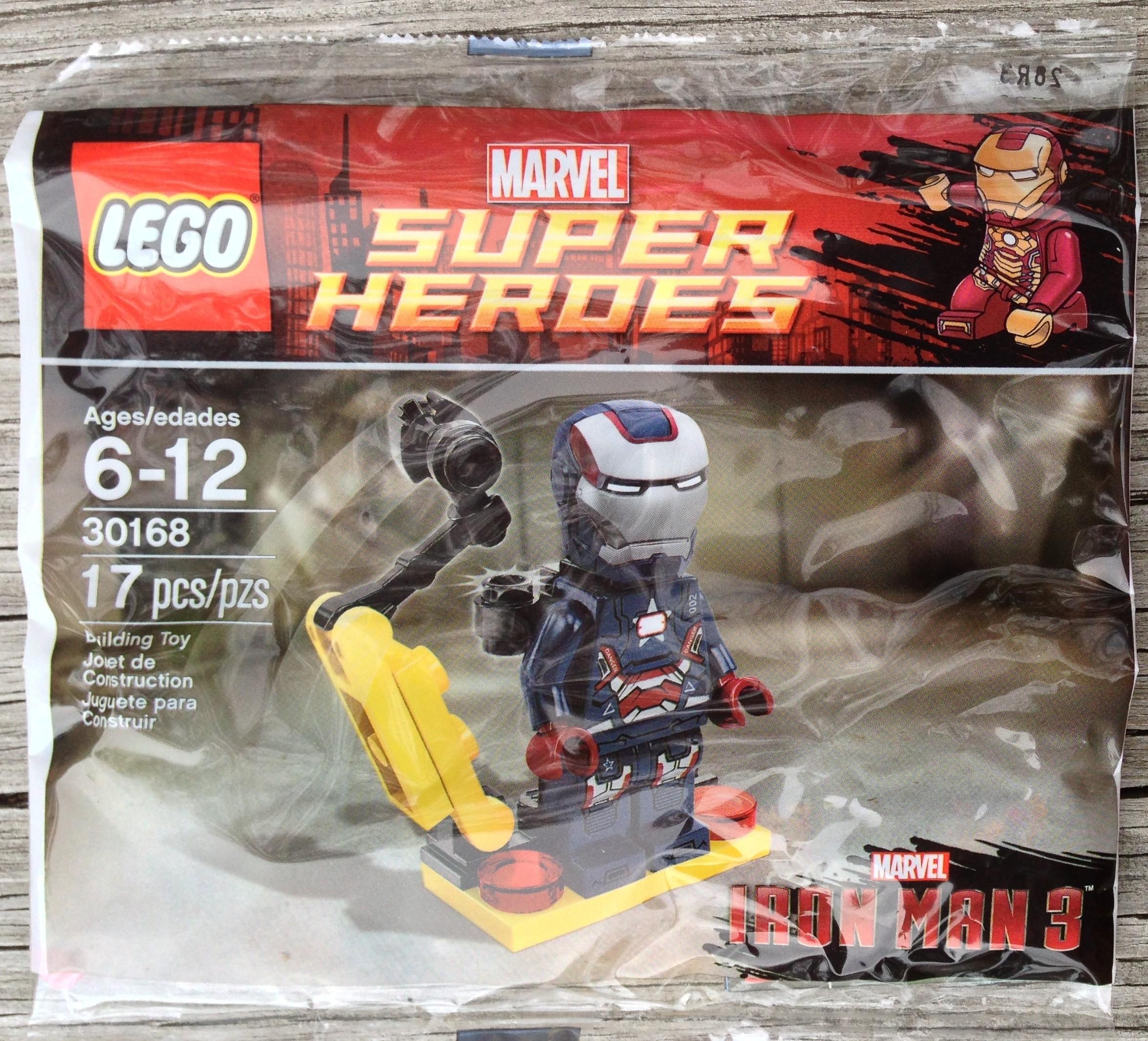 Iron Patriot Lego Lego 30168 Iron Patriot