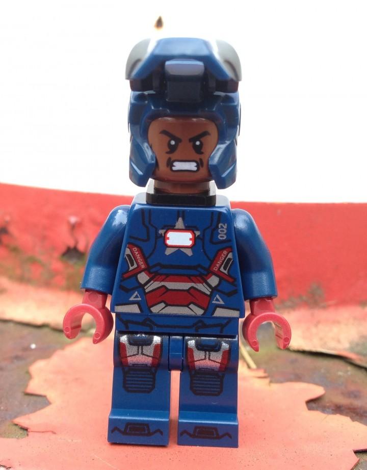 Lego Iron Patriot Minifigure Review Amp Photos Exclusive