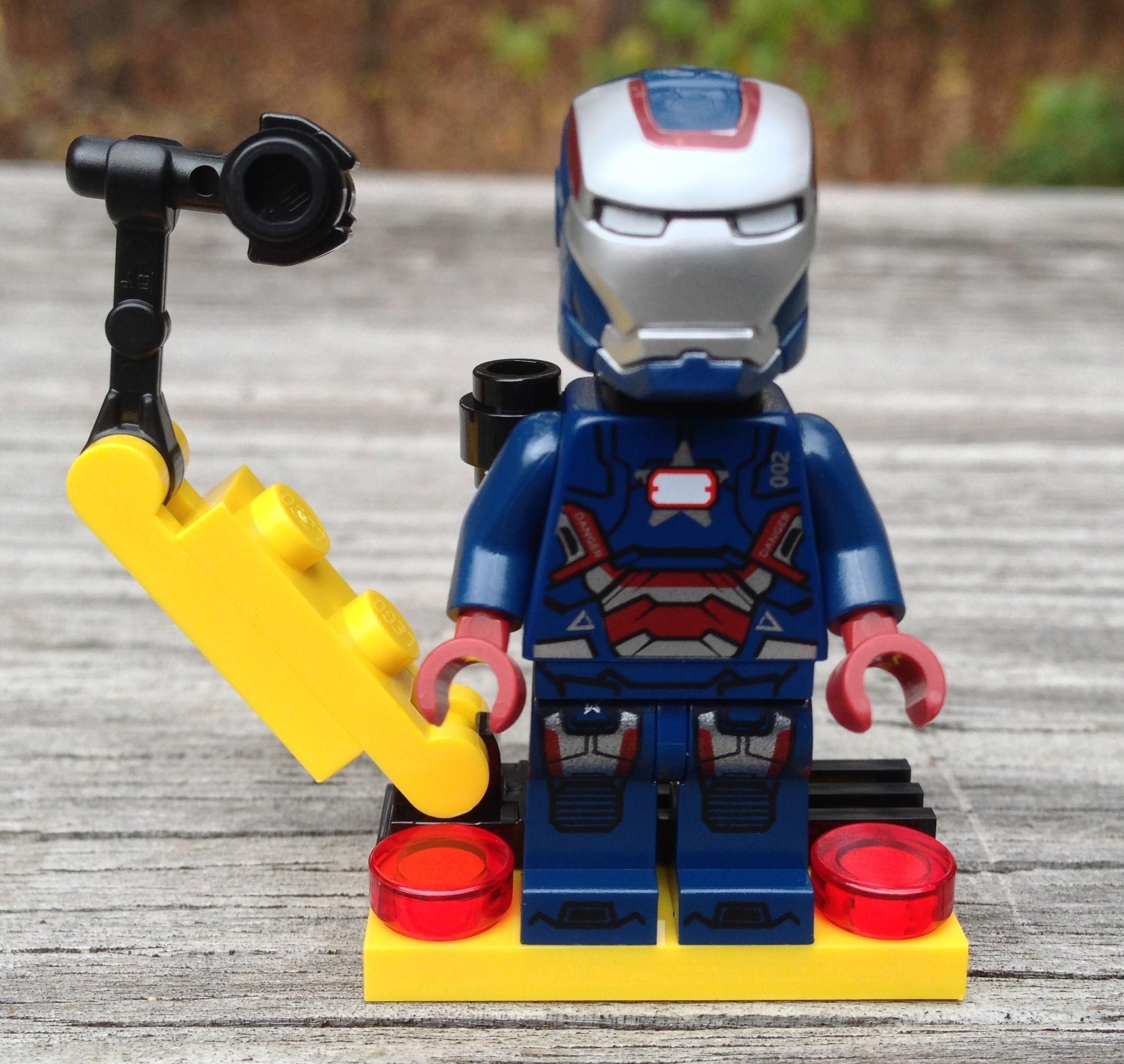 Iron Patriot Lego Lego Iron Patriot Minifigure