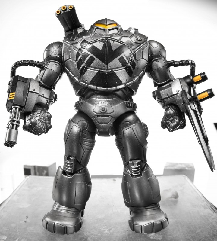2014 Captain America Marvel Legends Mandroid Build-A-Figure