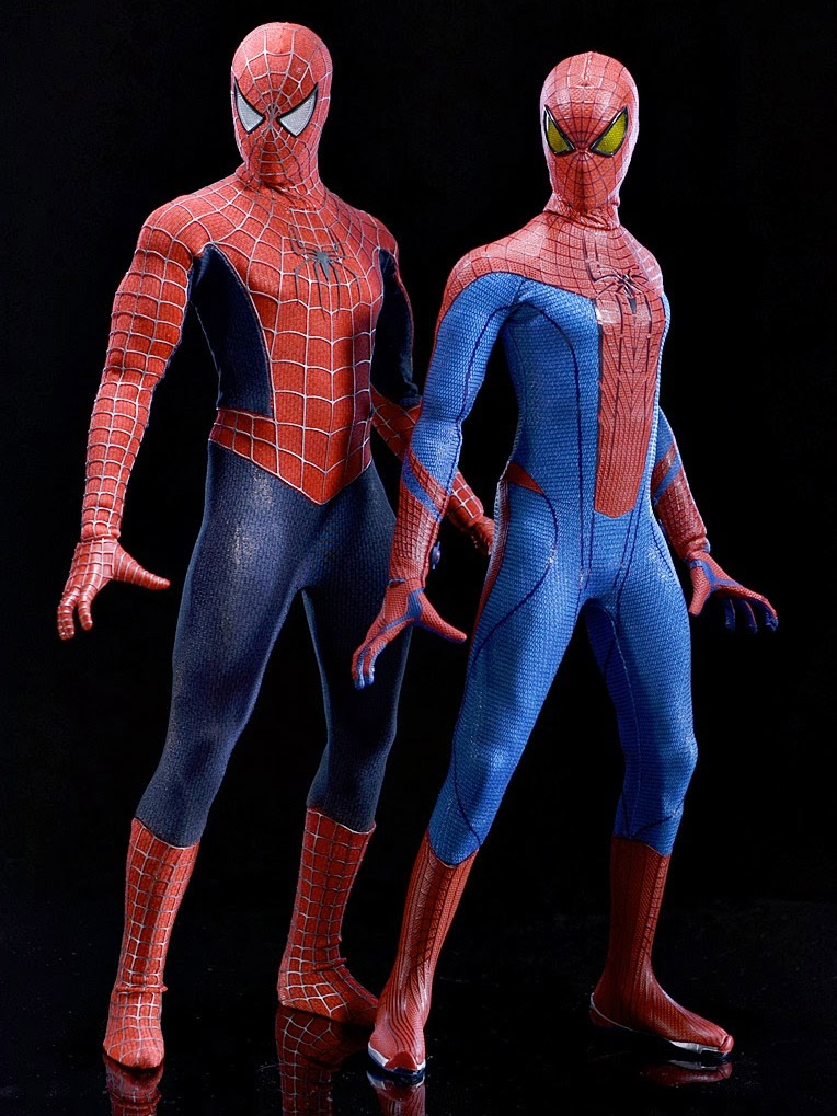 Spider Man Toys : Hot toys amazing spider man figure mms released