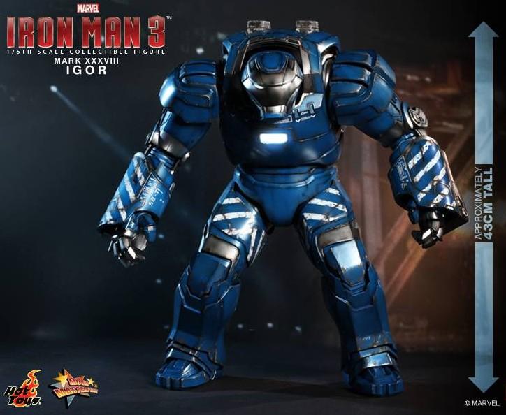 Iron Man 3 Hot Toys Igor Iron Man Mark 38 Figure Up For Order