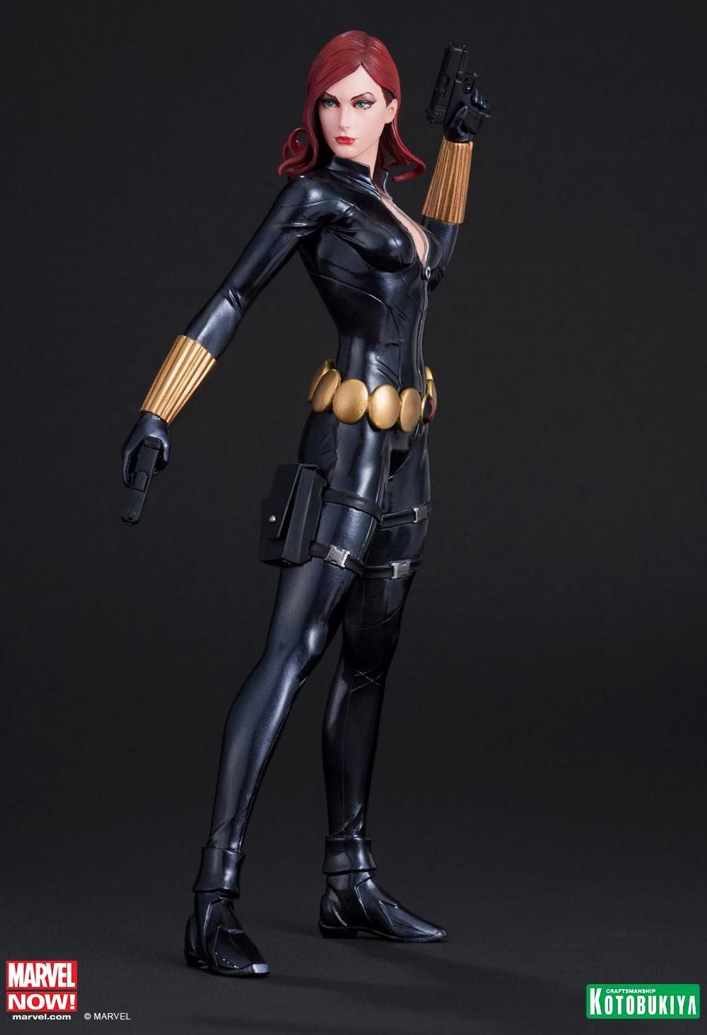 kotobukiya avengers artfx black widow statue up for order. Black Bedroom Furniture Sets. Home Design Ideas
