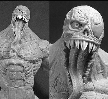 Zombie Venom Marvel Zombies Mini Bust Revealed