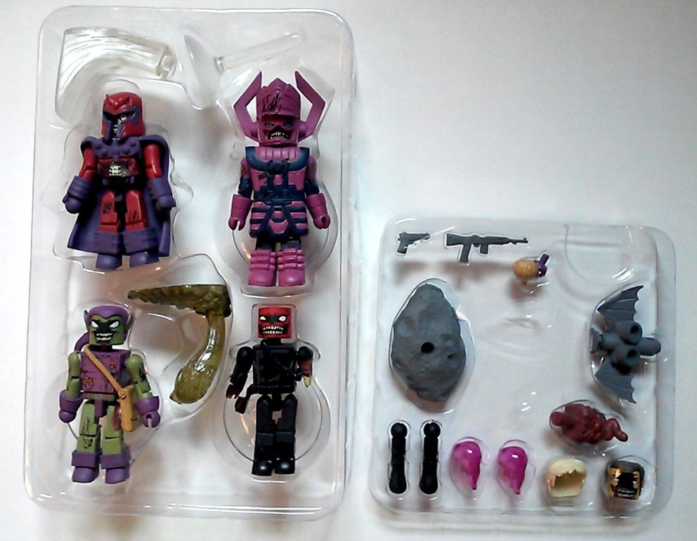 Marvel Minimates Zombies Villains # 1 Magneto