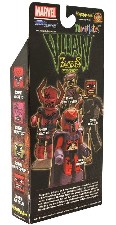 Marvel Minimates Zombies Villains # 1 Galactus