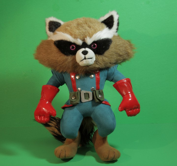 NYCC 2013 Exclusive Rocket Raccoon Plush Toy Stuffed Animal