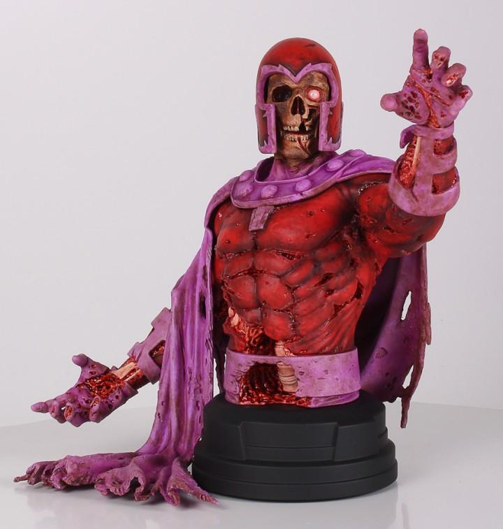 NYCC 2013 Zombie Magneto Mini Bust Exclusive Gentle Giant LTD