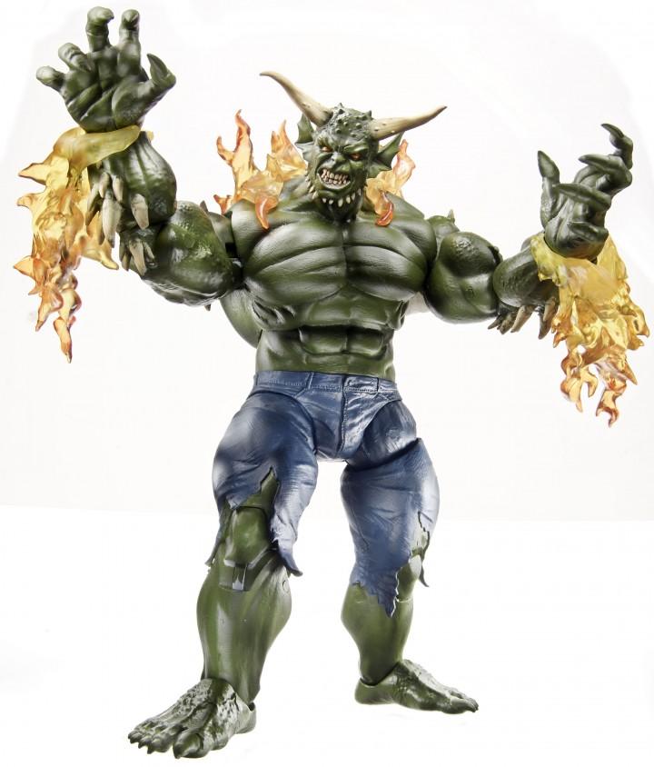 Spider-Man Marvel Legends 2014 Ultimate Green Goblin Build-A-FigureSpiderman Hot Toys Green Goblin