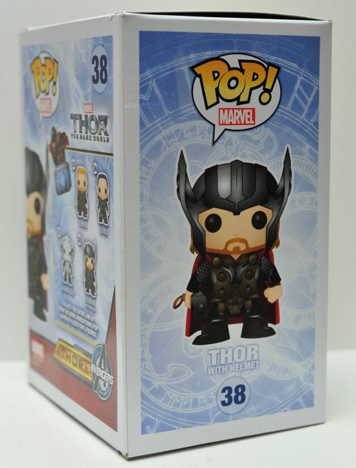 Thor The Dark World Funko POP Vinyls Exclusive Thor with Helmet