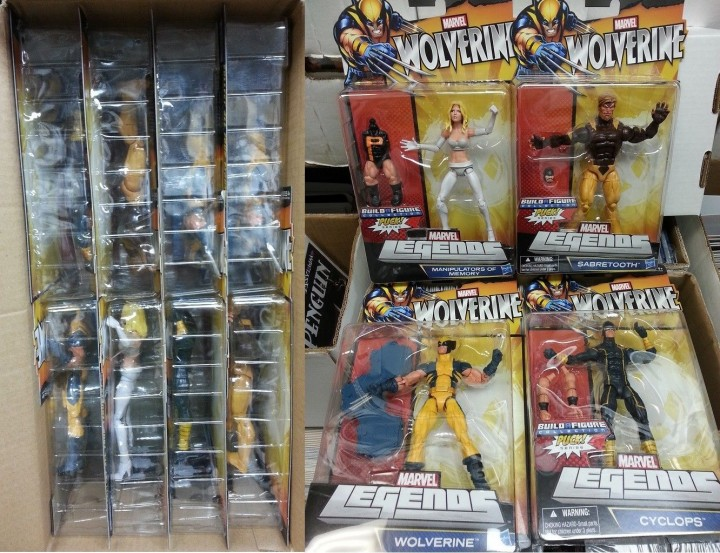 Wolverine Legends Case Emma Frost Cyclops Sabertooth