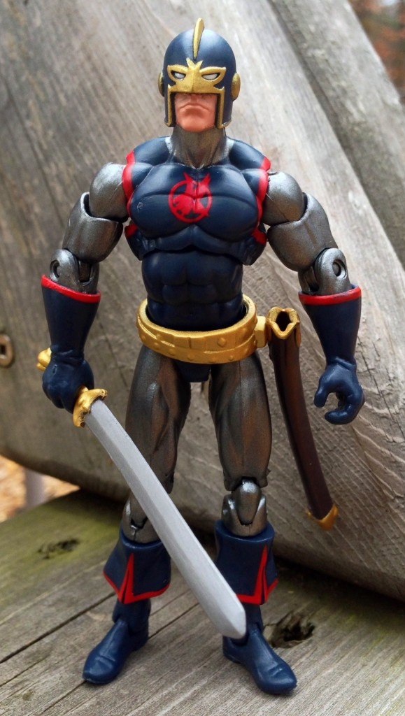 Marvel Universe Black Knight Figure without Cape