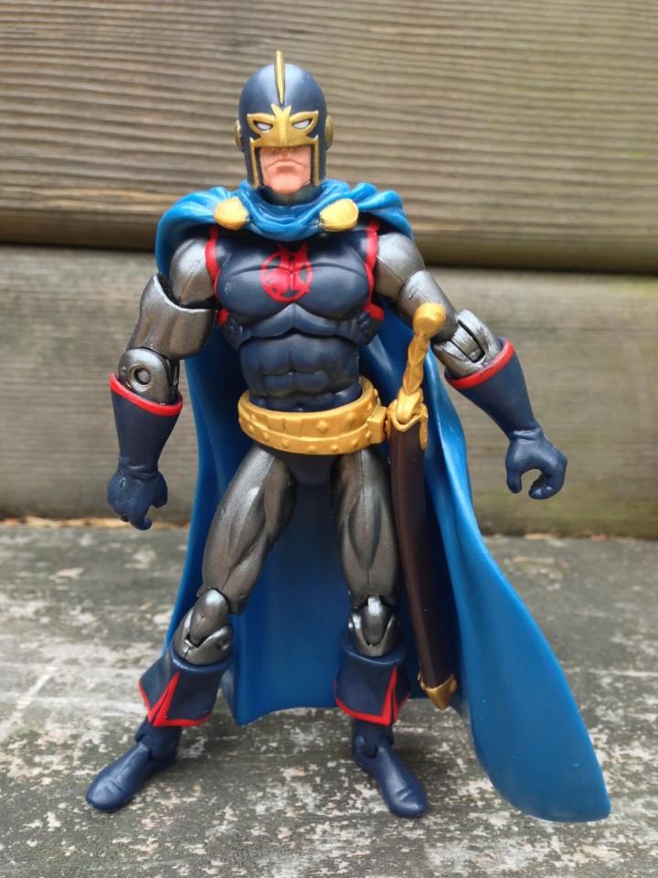 "Hasbro 4"" Marvel Universe Black Knight with Sword in Sheathe"