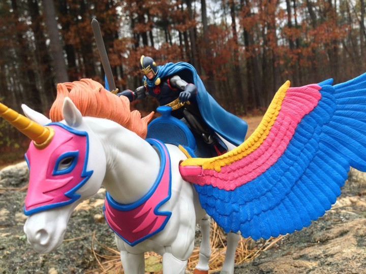 Hasbro Marvel Universe Black Knight Action Figures Rides Flying Horse Swiftwind
