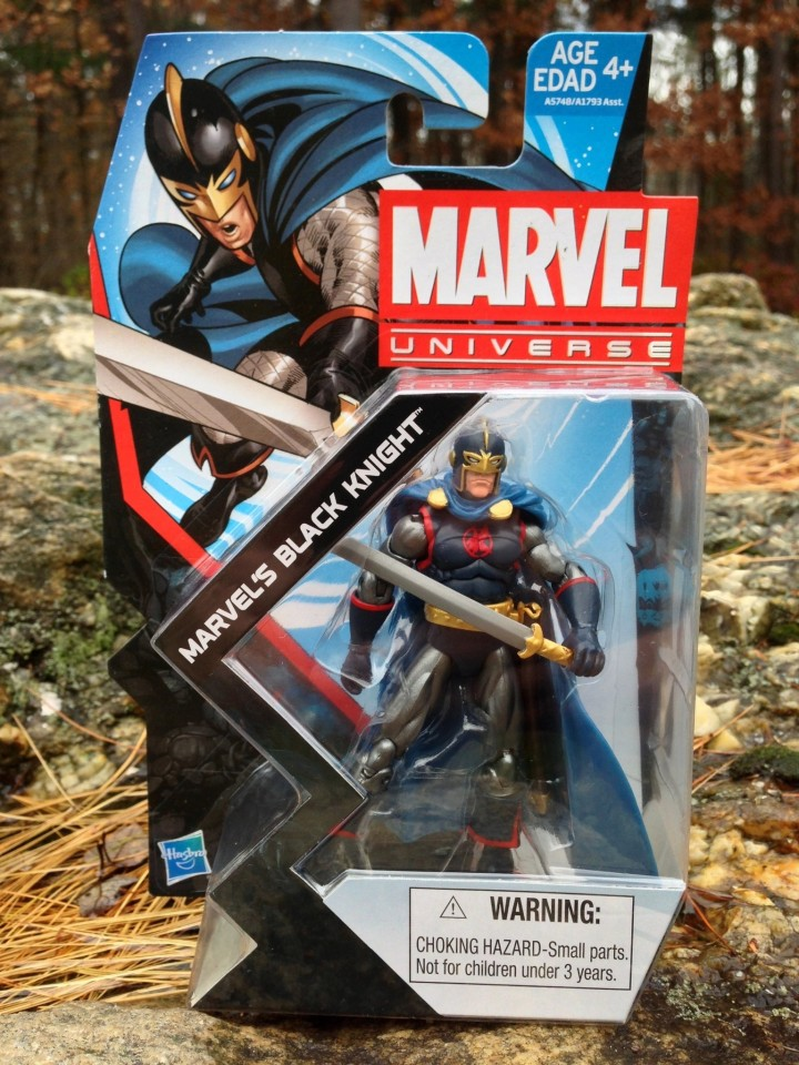Marvel Universe Black Knight Packaged