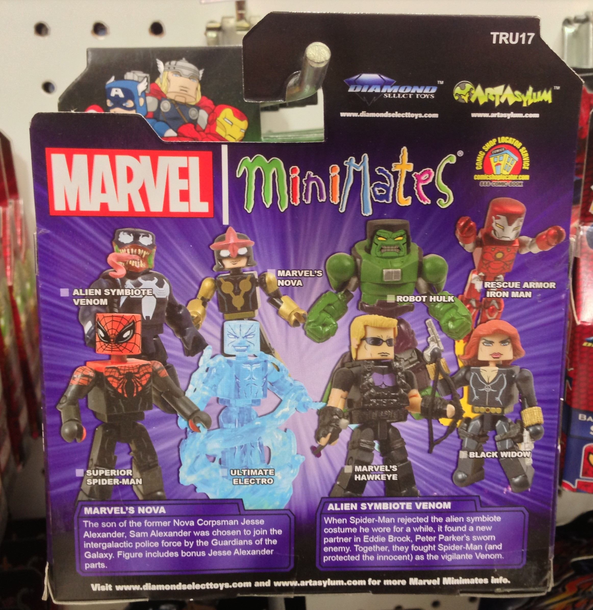 Marvel Toys R Us : Toys r us marvel minimates series released photos