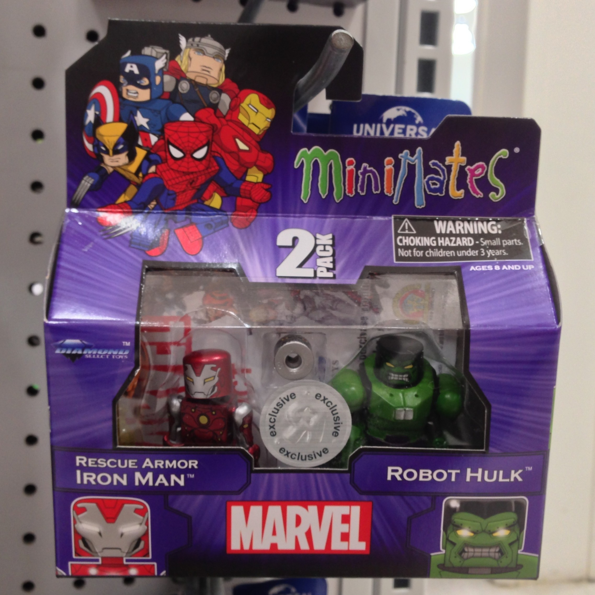 Marvel Minimates Tru TOYS R US Wave 17 Ultimate Electro