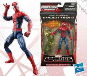 Marvel Legends Amazing Spider-Man 2 Figures Packaging 2014