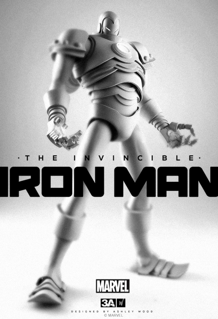 3A Iron Man Sixth Scale Figure Prototype 2014