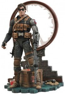 Disney Store Exclusive Marvel Select The Winter Soldier Figure