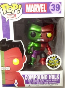 Funko Metallic Compound Hulk POP Vinyl LE 500