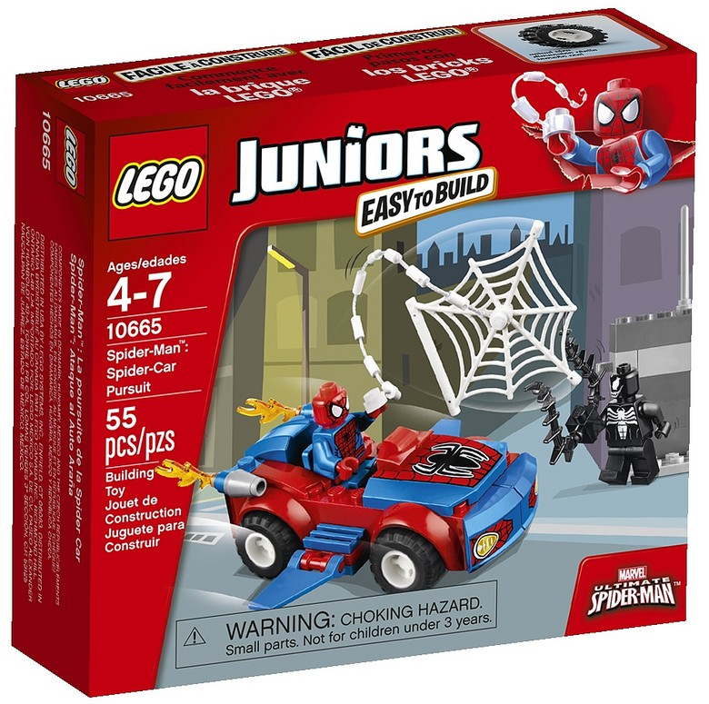 2014 LEGO Marvel Spider-Man Spider-Car Pursuit 10665 Revealed Lego Marvel Spider Man